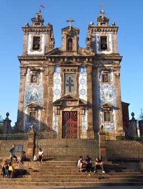 Kostel Igreja de Santo Ildefonso