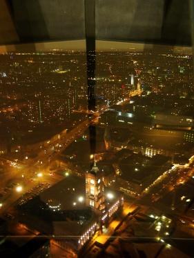 Výhled z TV Turm